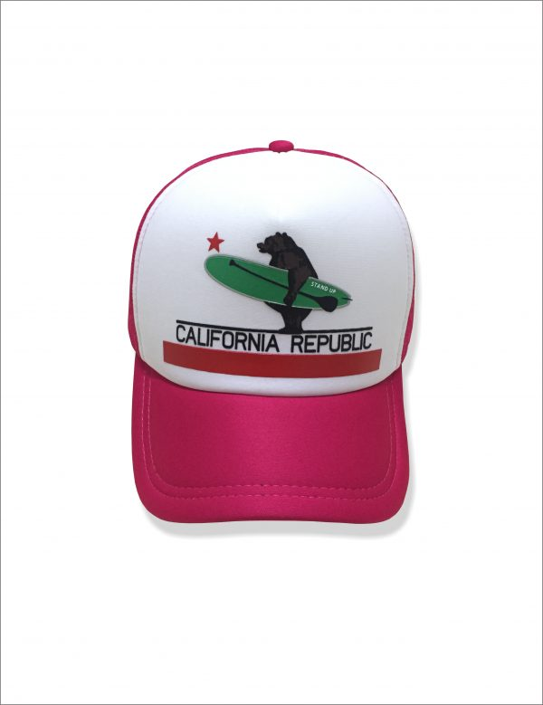 Bone california republic pink