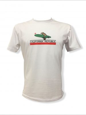 Camiseta Branca California Republic