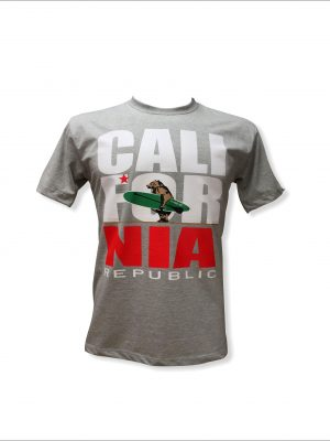 Camiseta CALIFORNIA REPUBLIC mescla