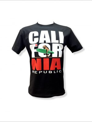 Camiseta California Republic preta