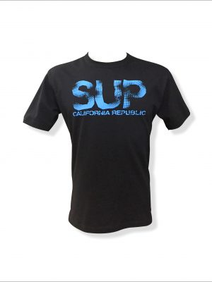 Camiseta sup California Republic preto e azul